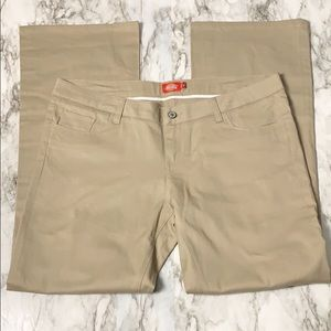 Dickies Straight Leg Pants Tan Size 17